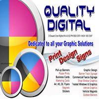 Quality Digital Printing Logo