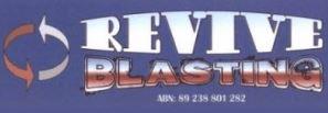 Revive Blasting Logo