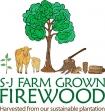SJ Farm Grown Firewood Logo